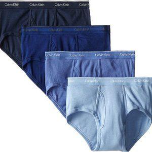Calvin Klein Men's Cotton Classic Briefs 4 Pack